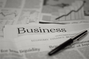 Image of Business section of newspaper